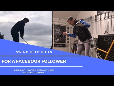 Golf Swing Help for a Facebook Follower
