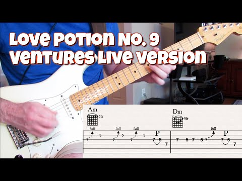 Love Potion No. 9 (Ventures Live With Tabs)