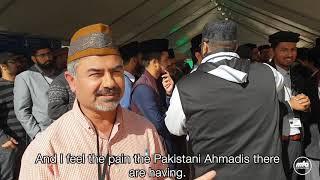 'I feel the pain that Ahmadis in Pakistan feel.''