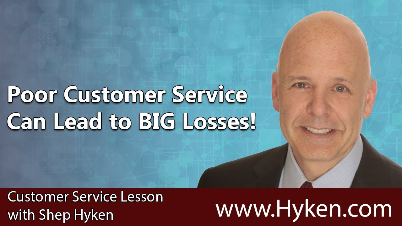 How Poor Customer Service Can Lead to Big Losses! - YouTube