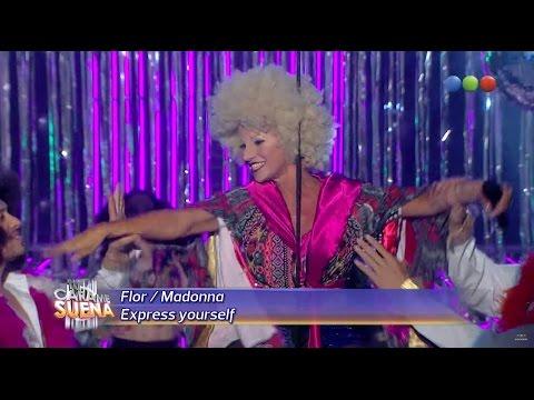 Flor Peña es Madonna - Tu Cara Me Suena 2014