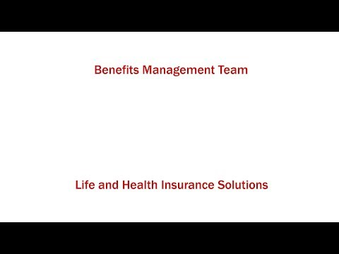 Benefits Management Team - Business Overview