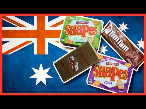 Australian Treats From Geoff, GoJo Media - Tim Tam, Shapes And Almond Gold