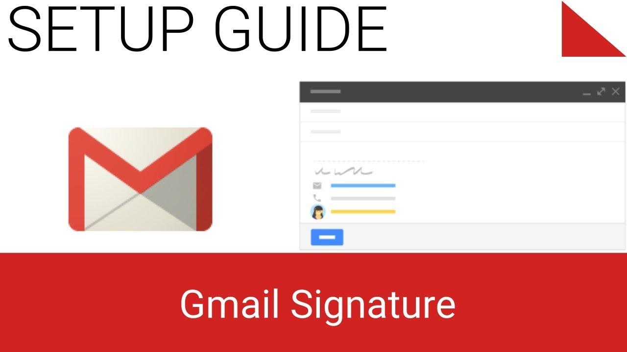 Phương pháp Tạo Chữ Ký Mail đơn giản Và Chuyên Nghiệp
