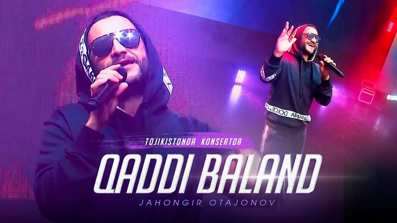 Jahongir Otajonov - Qaddi baland | Жахонгир Отажонов - Кадди баланд (Tojikistonda konsertda)