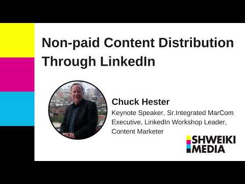 How to Distribute Your Content for Free Through LinkedIn