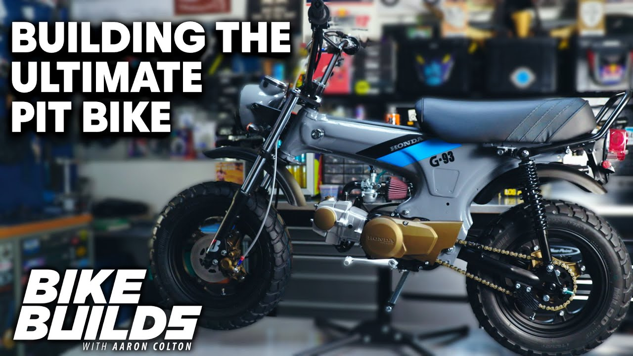 Download Rebuilding a Honda CT70 Minibike | Bike Builds with Aaron Colton