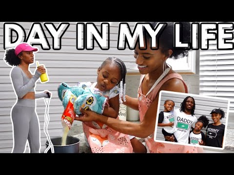 Realistic Day In My Life: SAHM EDITION | Family Routine + PatPat Haul