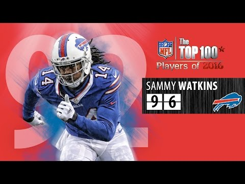 #96: Sammy Watkins (WR, Bills) | Top 100 NFL Players of 2016