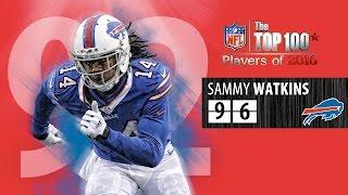 #96: Sammy Watkins (WR, Bills) | Top 100 NFL Players of 2016