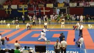 Kamo Unanyan - WIKF 17th European Karate Championships 2014