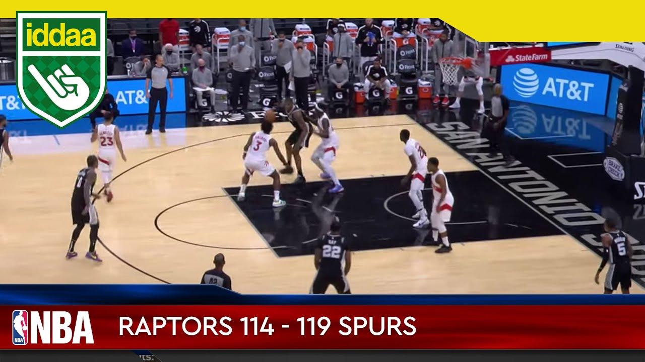 Toronto Raptors – San Antonio Spurs Maç Özeti