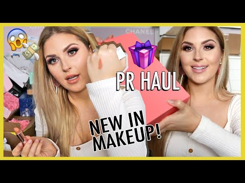 NEW in makeup! PR haul 😱 Anastasia Beverly Hills, YSL, Colourpop, Dior & More! thumbnail
