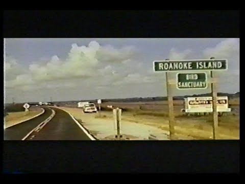 1973 Corridor, Roanoke Island, Manteo, the Causeway and Mann's Harbor