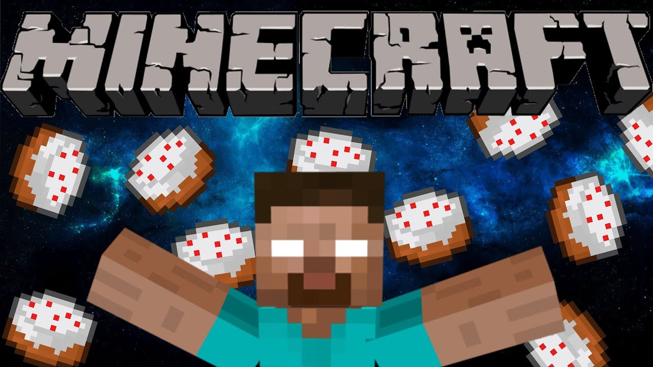 If Herobrine Baked Cake Minecraft Youtube