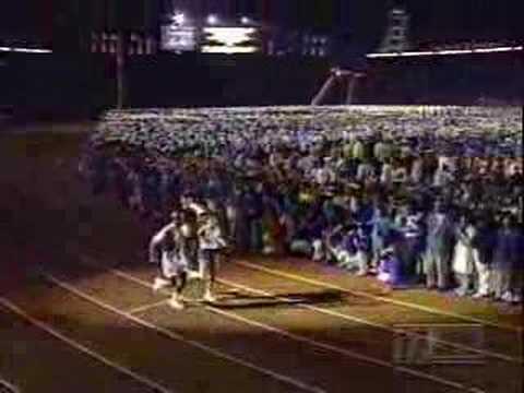 1996 Atlanta Opening Ceremonies - Lighting of the Cauldron