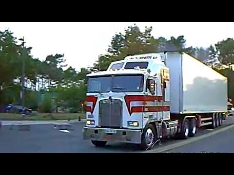 kenworth k100 t800 loud pipe truck trans scotti france youtube. Black Bedroom Furniture Sets. Home Design Ideas