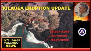 HAWAII ERUPTION Latest HCCD Report on Kilauea Volcano (8/13/2018)