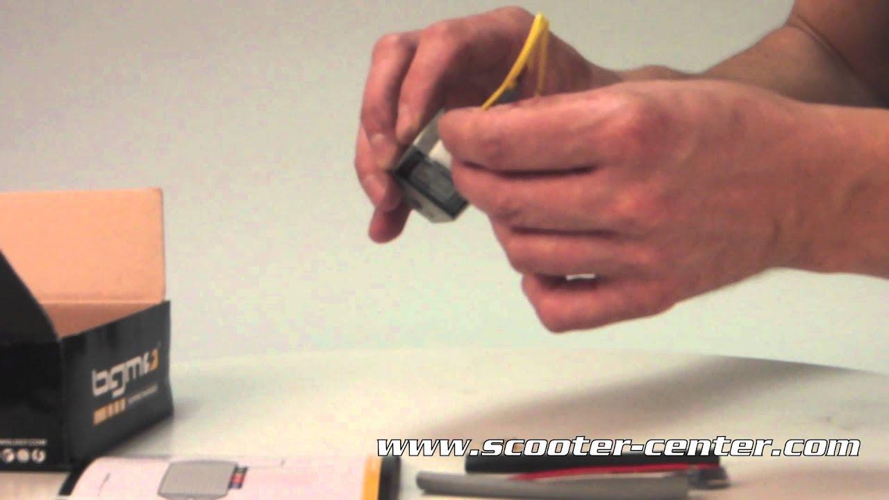 Spannungsregler - BGM6690 4-Pin BGM PRO 12V AC/DC- Vespa Lambretta ...