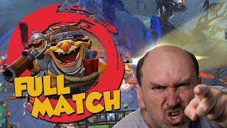 Salt Russians Rage  Carry - DotA 2 Techies Full Match