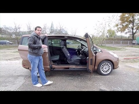 (ENG) Ford B-Max - test drive and review