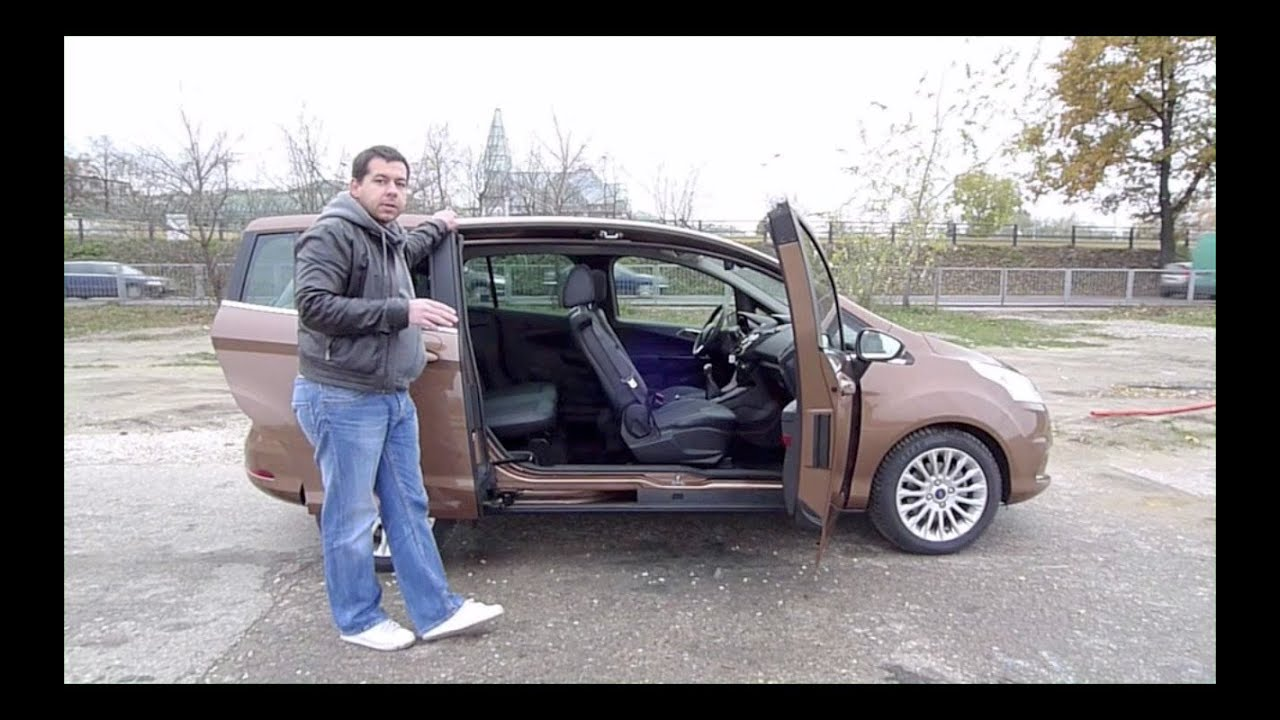 eng ford b max test drive and review youtube. Black Bedroom Furniture Sets. Home Design Ideas