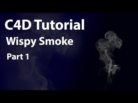 Cinema 4D Smoke Tutorial Part 1