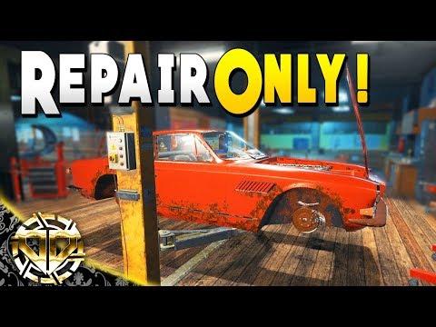 Repair Only Challenge on a Maserati Sebring : Car Mechanic Simulator 2018 Gameplay