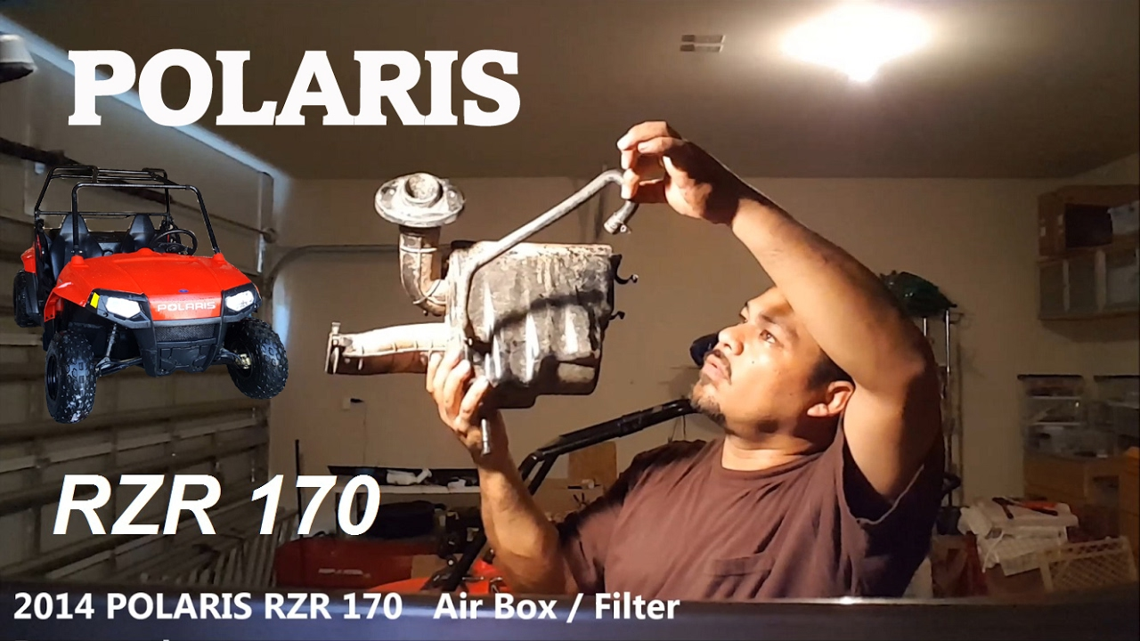 Polaris Rzr 170 Air Filter Box Intake System