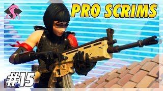 Pro Scrims Ending Build Fight #15 - Fortnite Battle Royale