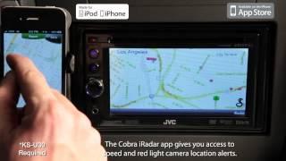 JVC Mobile Entertainment 2012 - Multimedia APP Link - Cobra iRadar