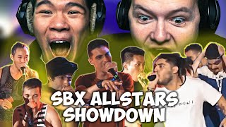 CHEZAME & SXIN React | SBX ALLSTARS SHOWDOWN | SBX Camp Showcase 2019 😱