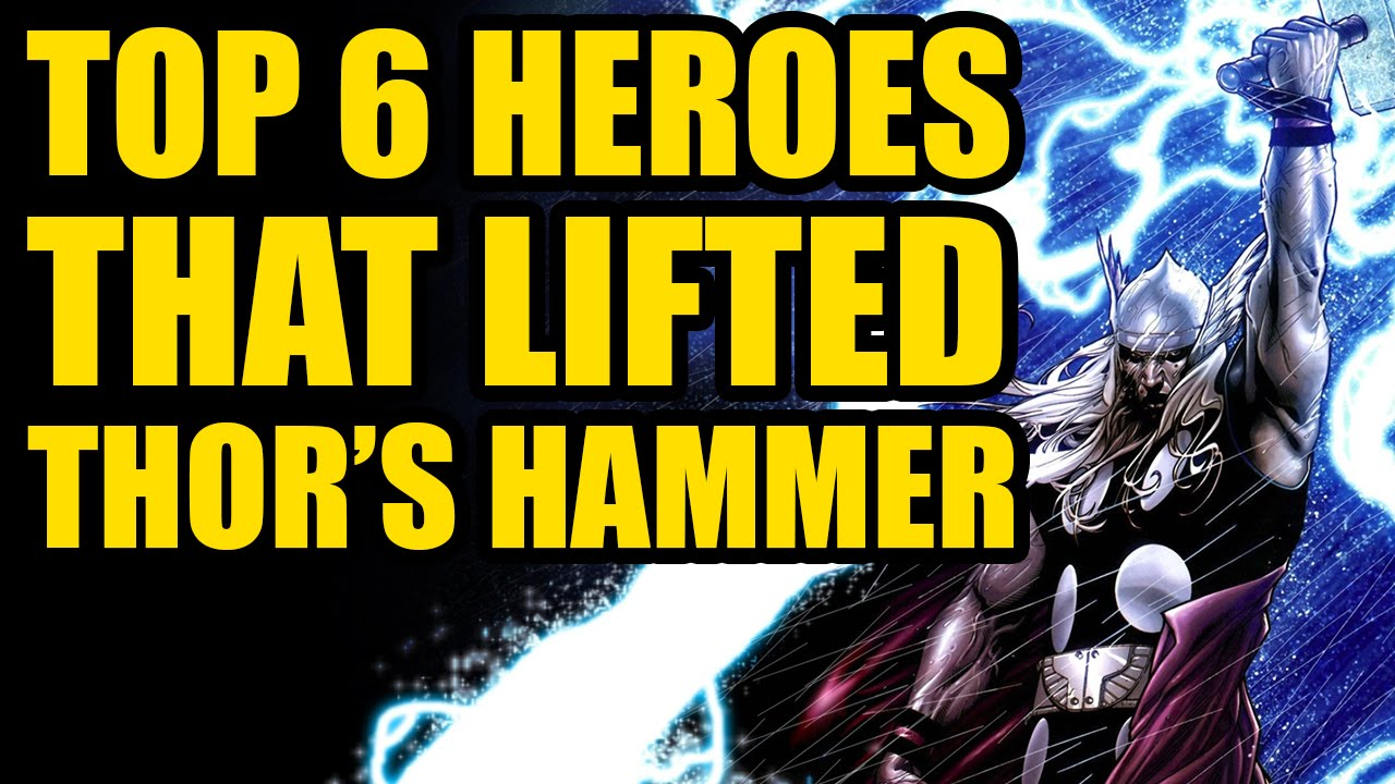 avengers 2 spoilers top 6 heroes that lifted thor s hammer youtube