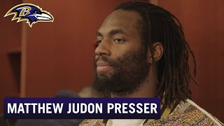 Matthew Judon Full Press Conference After Falling to Titans | Baltimore Ravens