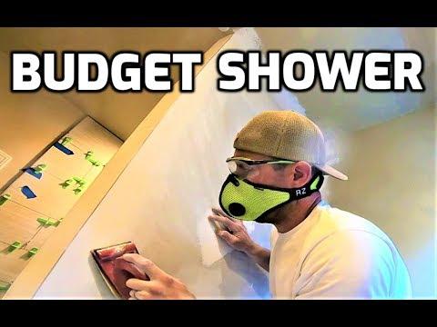 Budget Shower - Bath & Shower Tile Ideas