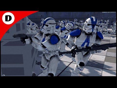 REPUBLIC BASE INFECTED BY ZOMBIE WORM VIRUS - Men of War: Star Wars Mod |