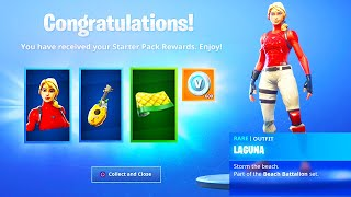 The New LAGUNA PACK REWARDS in Fortnite..