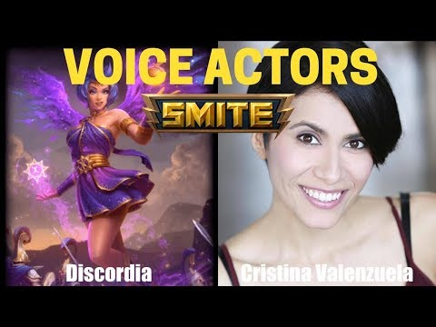 All Characters and Voice Actors  Smite  God Voicelines