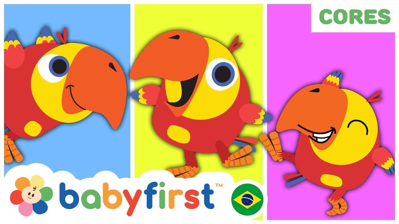 Desenhos Educativos | Aprender as Cores para Crianças com Larry | Desenho infantil |BabyFirst Brasil