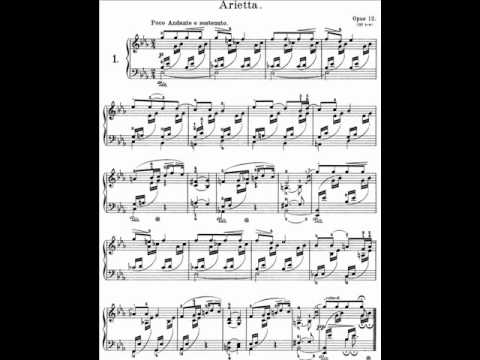 Grieg Lyric Pieces Book I, Op.12 - 1. Arietta