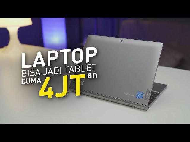 Murah SOB, Bisa Jadi Tablet Juga !! | Review Lenovo D330
