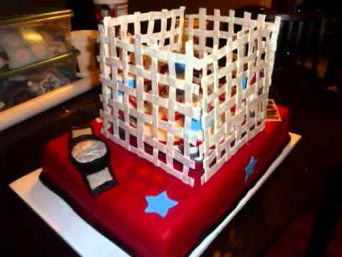 WWE Cake YouTube