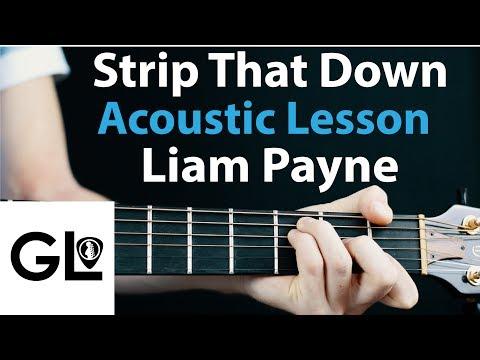 Liam Payne - Strip That Down: Acoustic Guitar Lesson EASY Beginner 🎸