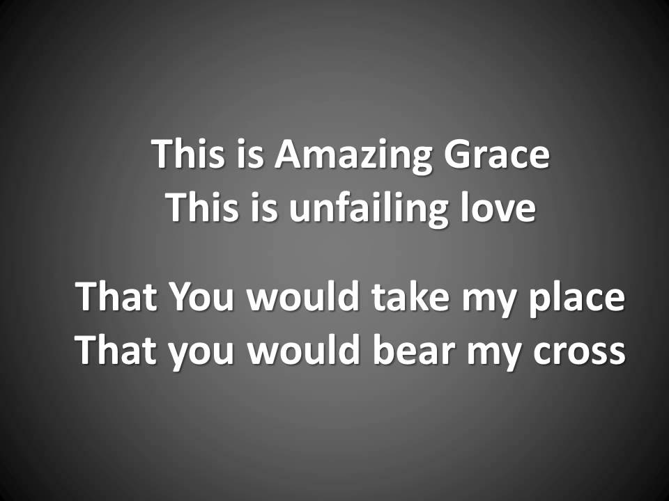 This is Amazing Love - YouTube