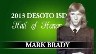 Mark Brady Hall of Honor