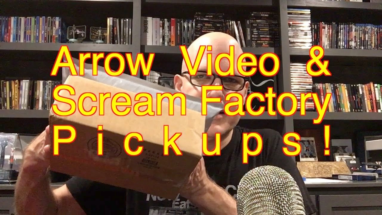 Download Arrow Video & Scream Factory Pickups! They just keep on coming!