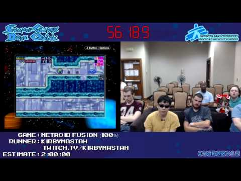 Metroid Fusion - SPEED RUN in 1:50:48 (100%) [GCN] by Kirbym