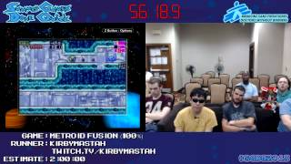 Metroid Fusion - SPEED RUN in 1:50:48 (100%) [GCN] by Kirbymastah #SGDQ 2013
