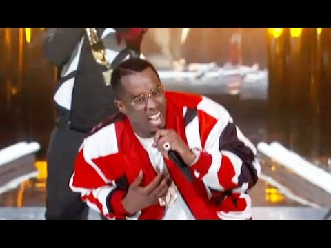 diddy on bet awards show