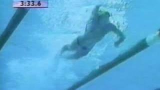 Swimming Thorpe Freestyle Slow Motion